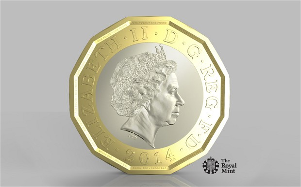 new pound coin