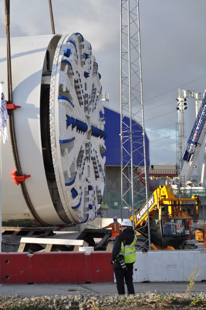 thames tunnel boring machine